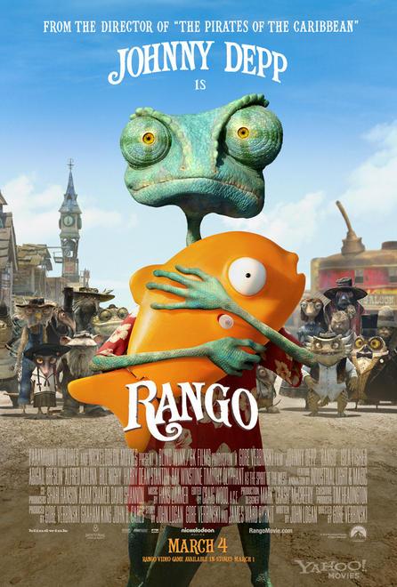 Rango poszterén Depp