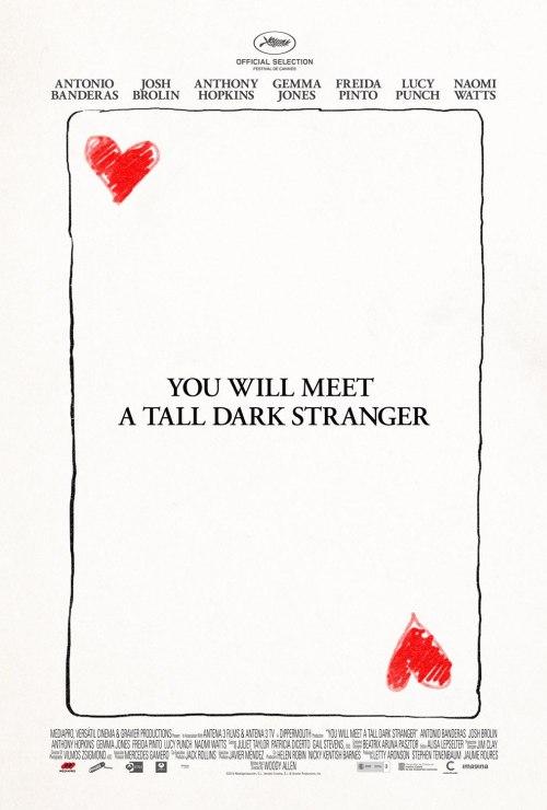 Posztert kapott a You Will Meet A Tall Dark Stranger