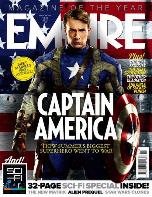 Amerika kapitány az Empire magazinban