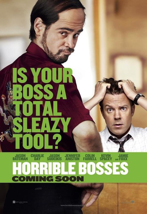 Horrible Bosses poszterek