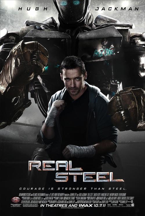 Real Steel poszter újra