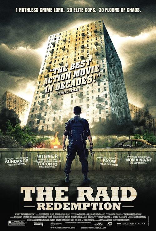 The Raid poszterek