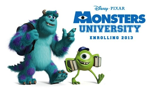 A Monsters University msodik posztere