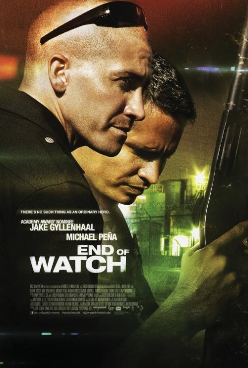 Az end of watch poszterek