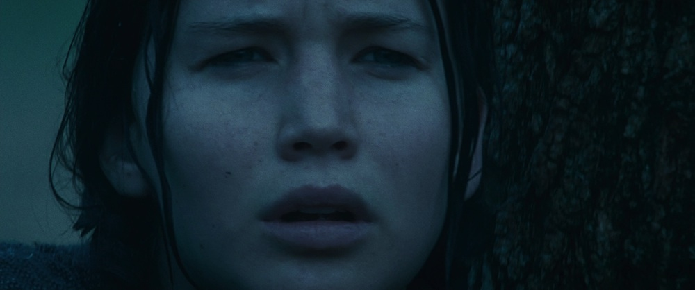 Katniss a Hunger Gamesben