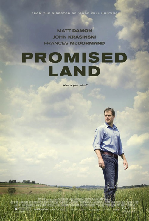 A Promised Land posztere