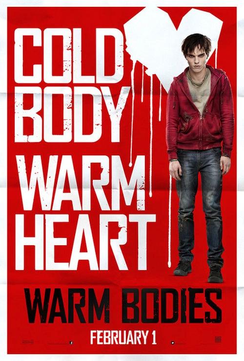 Warm Bodies posztere