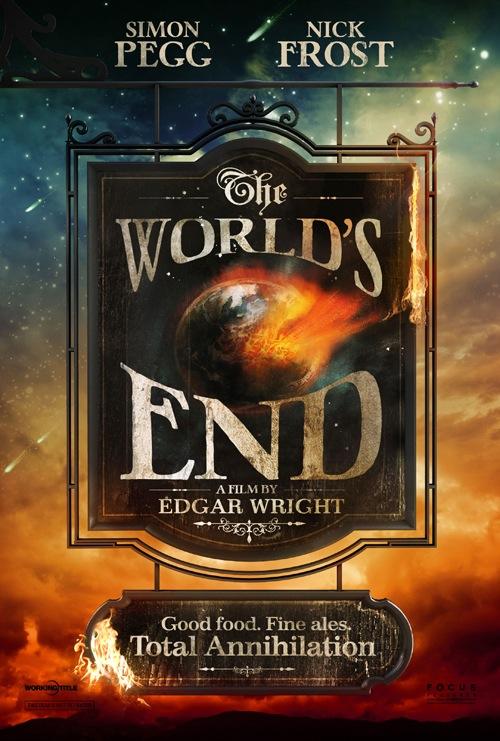 The World's End poszterei