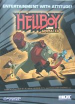 Hellboy Animated poster: Entertainment with attitude