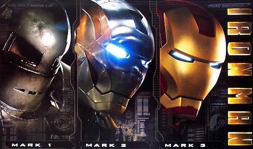 Triplázott Iron Man poszter