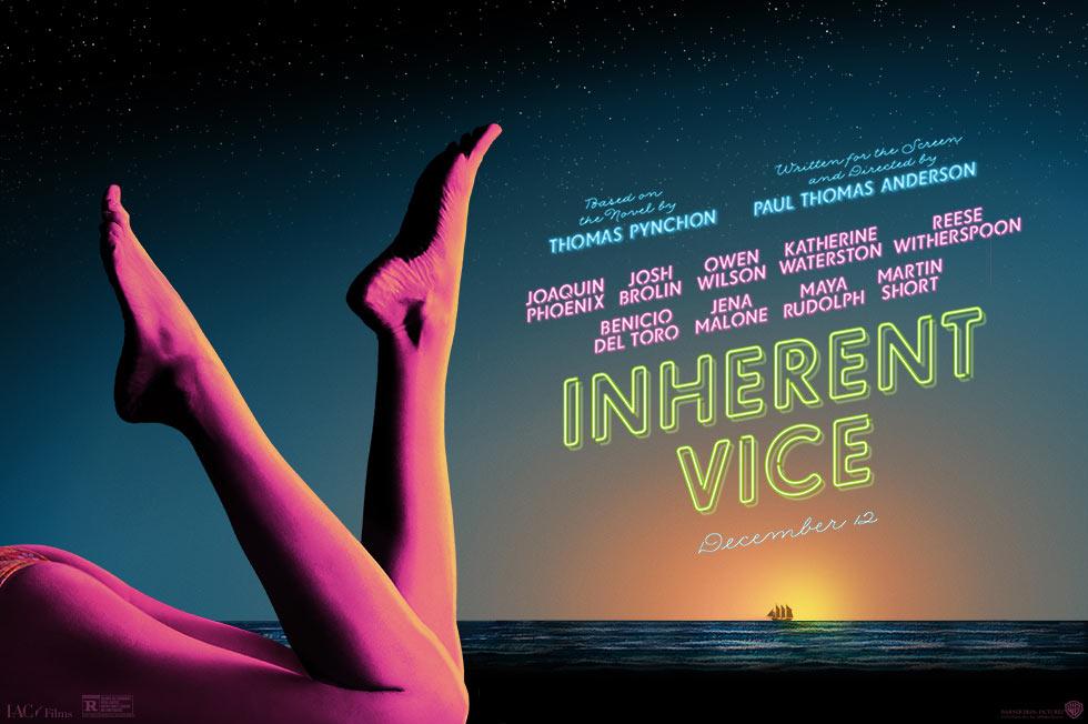 Inherent Vice trailerhez készített poszter