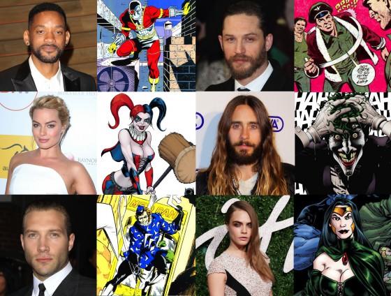 """Potvrđene uloge adaptacije stripa """"Suicide Squad"""": """"Vil Smit """"Deadshot"""", Tom Hardy """"Col. Rick Flag"""", Jr. Džared Leto """"Joker""""!"""", Gradski Magazin"""