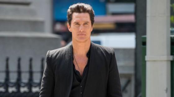 Matthew McConaughey a Dark Tower forgatásán
