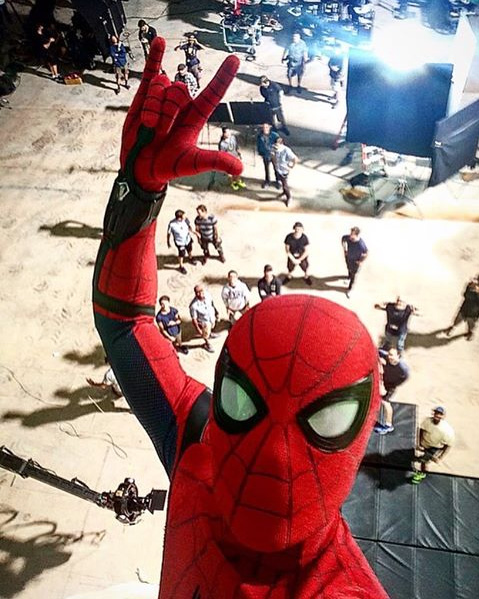 spidermanselfie