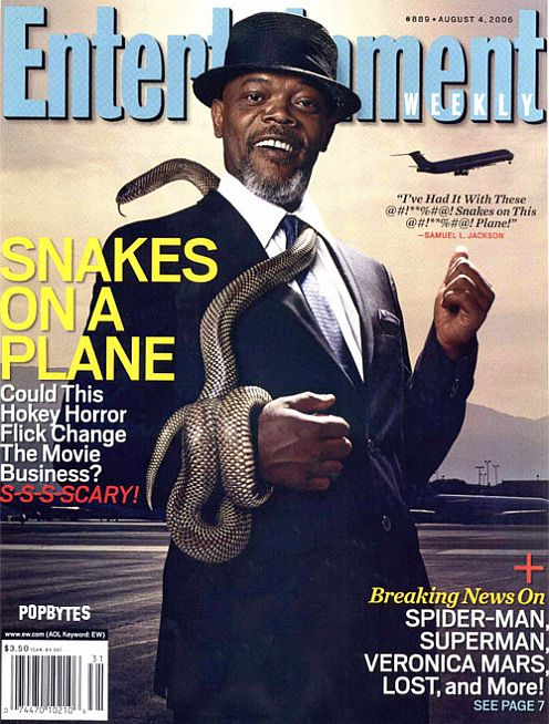 Snakes on a Plane at Entertainment weekly