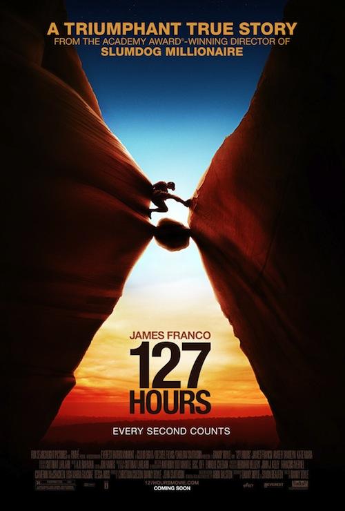 A 127 Hours posztere is megjött