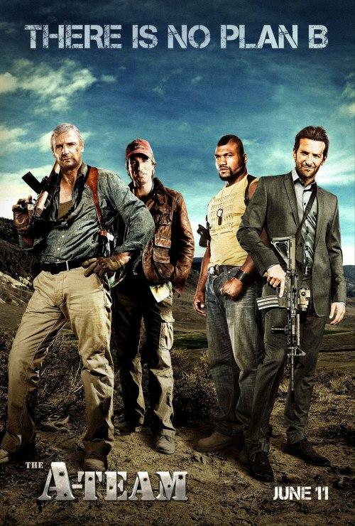 A-Team, azaz a Szupercsapat-film első posztere