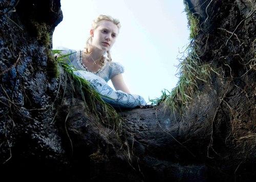 Alice lemegy a nyuszi után csodaországba