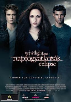 Az Alkonyat - napfogyatkozás magyar posztere