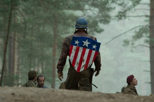 HQ pictures from Captaion America