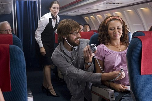 Away We Go - repülőn