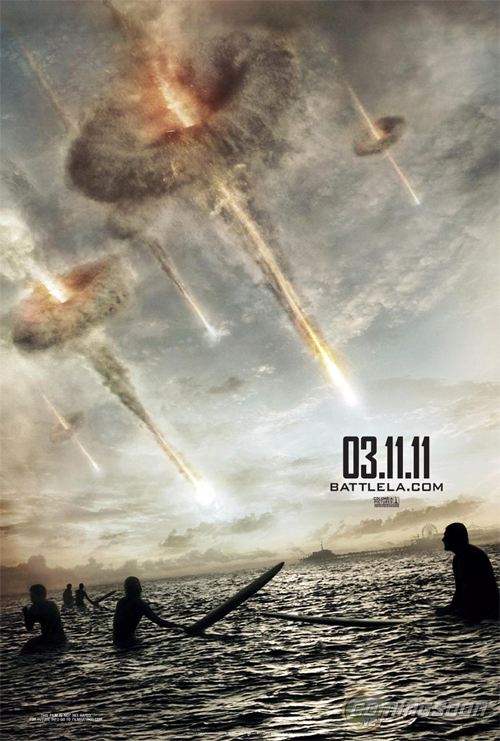 Battle: LA posztere
