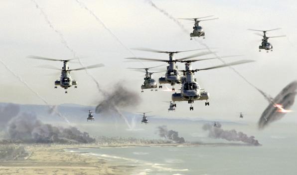 Battle Los Angeles: csata a levegőben