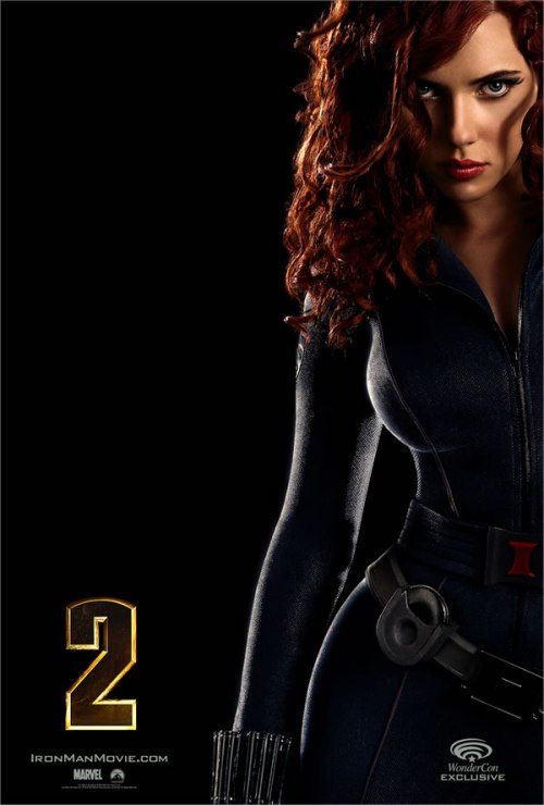 Black Widow @Iron Man 2 poster