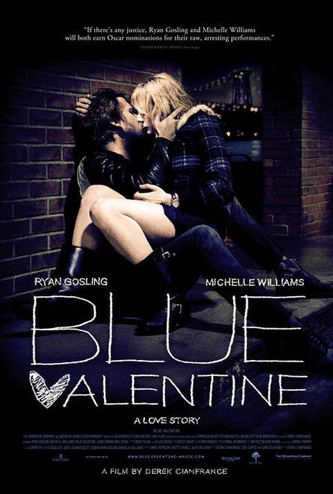 A Blue Valentine posztere