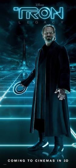 Tron Legacy karakterbannerek