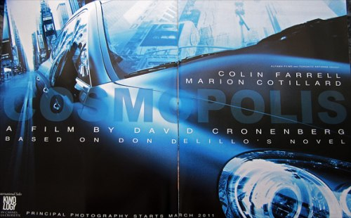 Cosmopolis early promo ad
