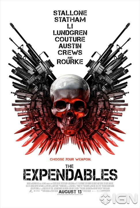 Expendables új poszterek