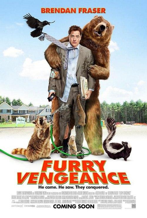 Furry Vengeance poszter