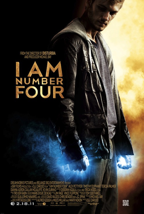 I Am Number Four-poszter