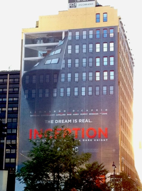 Inception ambient ad