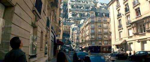 várostekerés az Incepcion-ben
