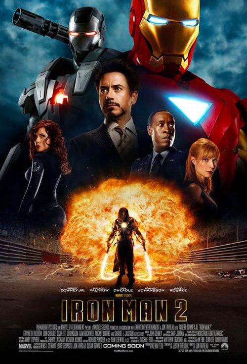 Iron Man 2 poszter a szemnek