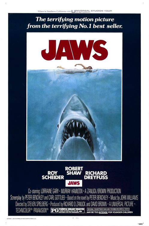 A Jaws posztere