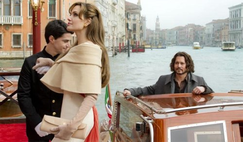 The Tourist first promo pic