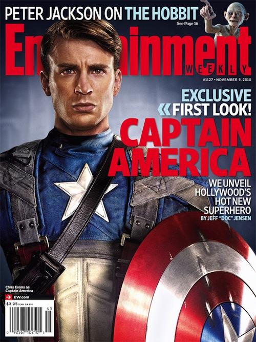 Amerika kapitány teljes jelmezben