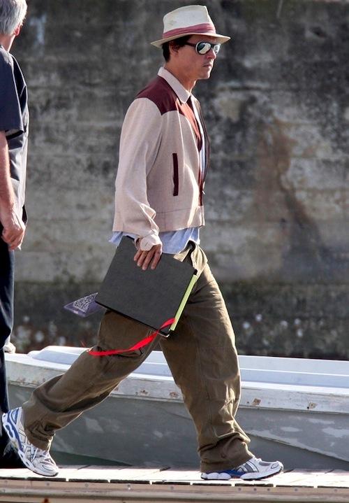 Johnny Depp as Paul Kemp @Rum Diary