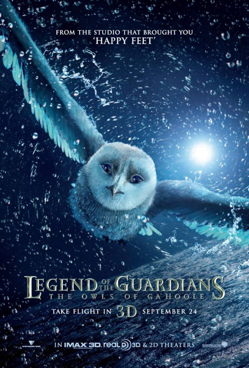 A Legend of the Guardians posztere