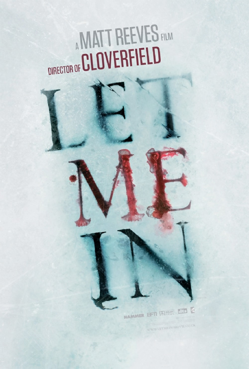 A Let Me In posztere