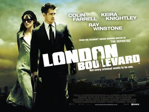 London Boulevard posztere