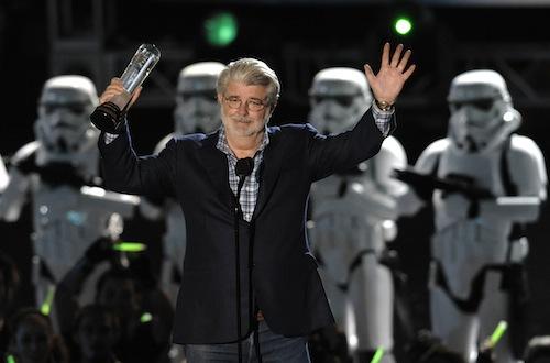 George Lucas a Scream Awardson