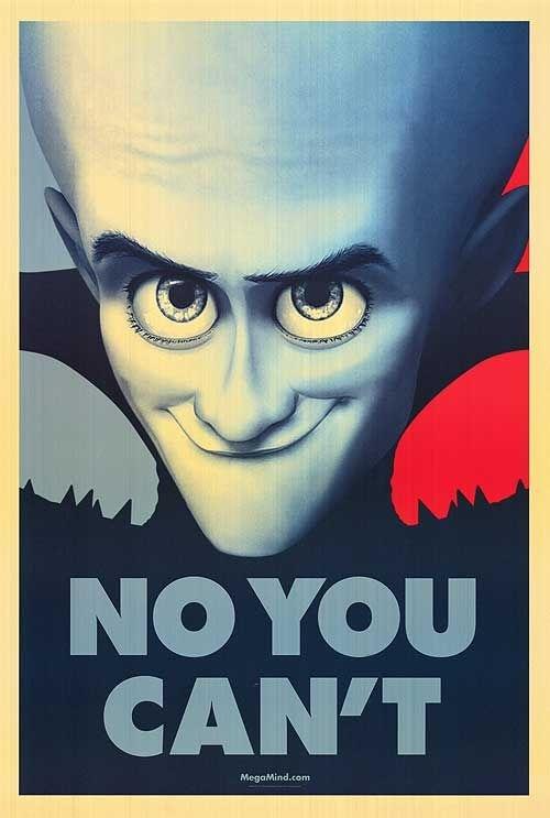 A megamind poszterei