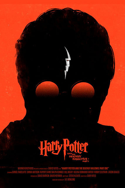 Olly Moss-féle Potter-poszter