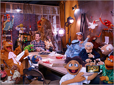 Muppets képen látható