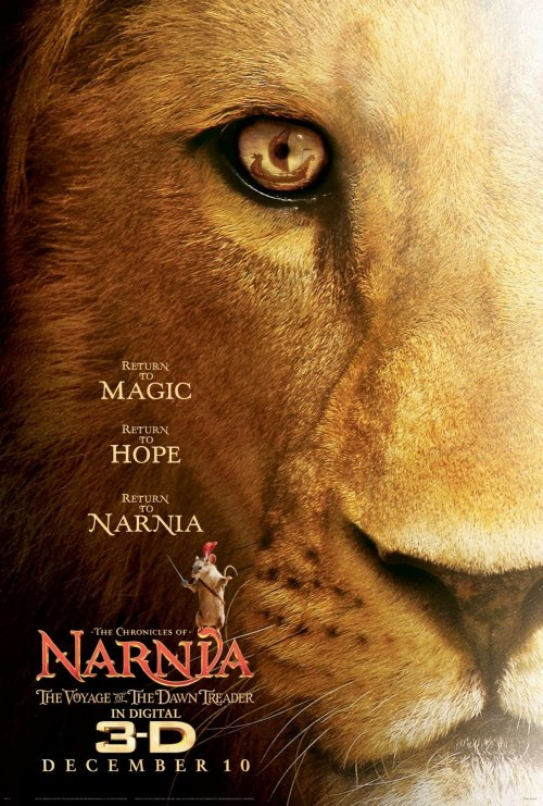 Poster for Narnia 3 Dawn Treader