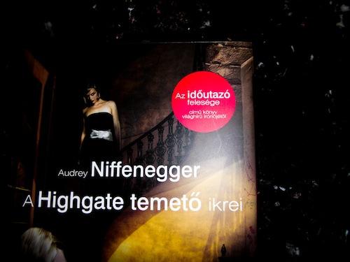 A Highgate temető ikreinek könyvborítója
